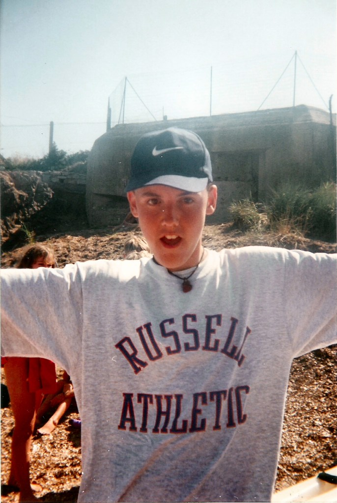 The Yorkshire Dad age 15 in Hyeres, South of France