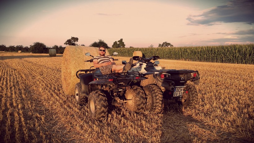 A Guide To Buying A Quad For Farming | The Yorkshire Dad of 4