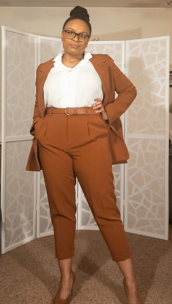 Cognac suit-2