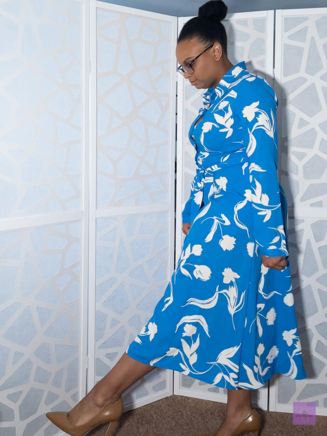 Colorful professional dress 4