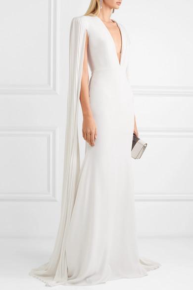 alex perry white wedding dress fashion style bridal designer runway