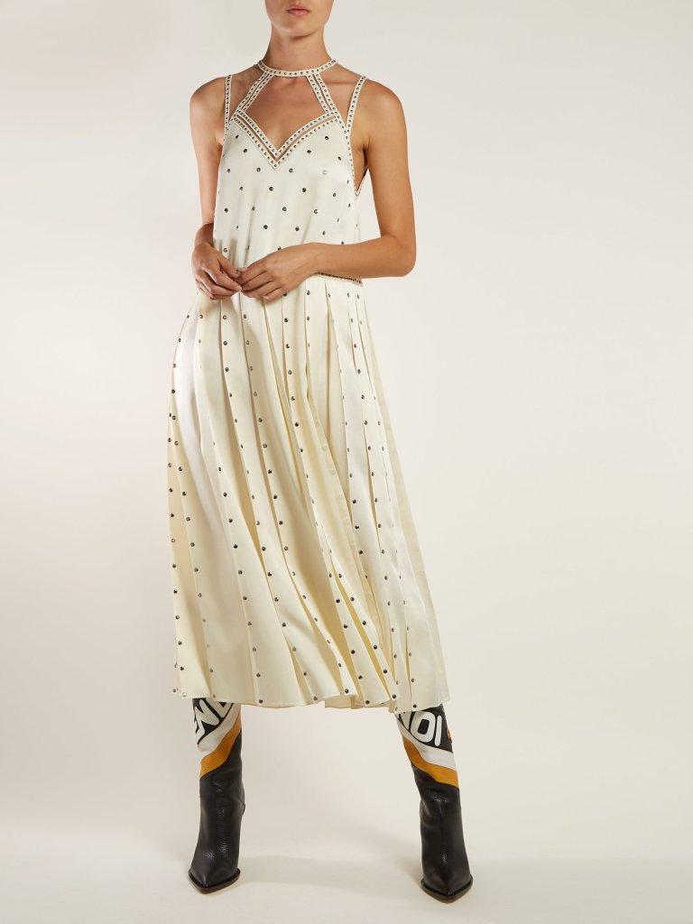 fendi white wedding dress fashion style bridal designer runway