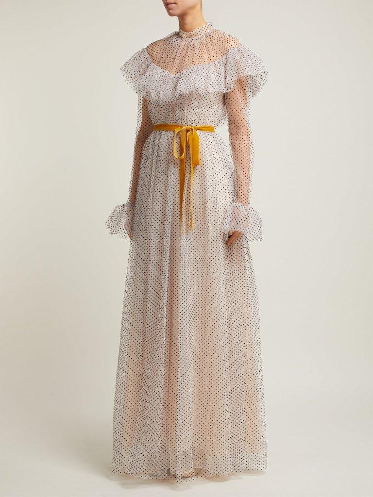 erdem white wedding dress fashion style bridal designer runway