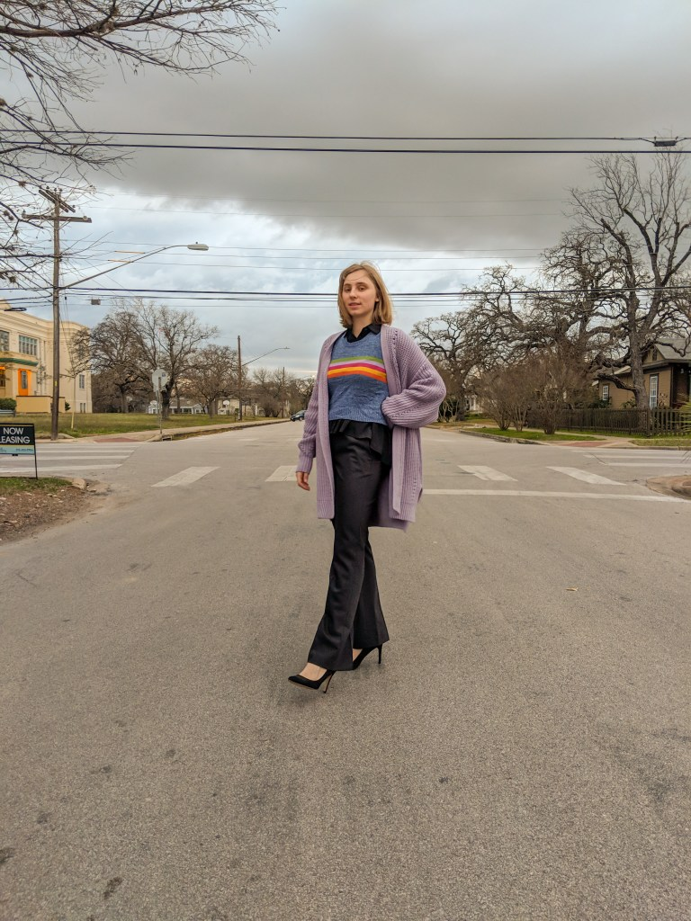 fun funky business casual work outfits inspiration fashion style blog editorial shoot
