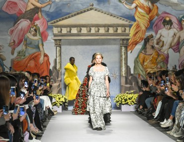 shrimps fall winter 2019 athena greek mythology fashion runway style the young eclectic