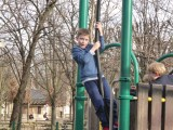 The flying fox at the Luxembourg Gardens