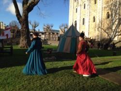 Medieval display...
