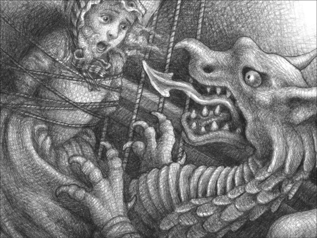 Art from The Marvels by Brian Selznick