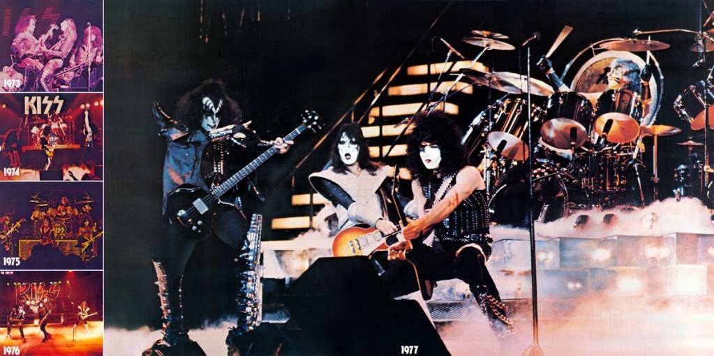 Kiss Alive evolution4-5