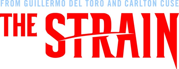 Pictured: THE STRAIN logo