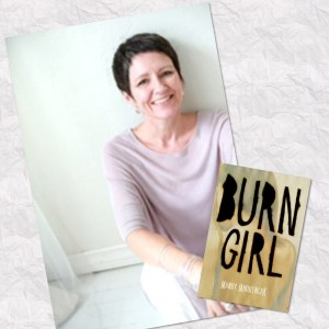 burn girl author
