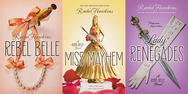 rebel belle series covers