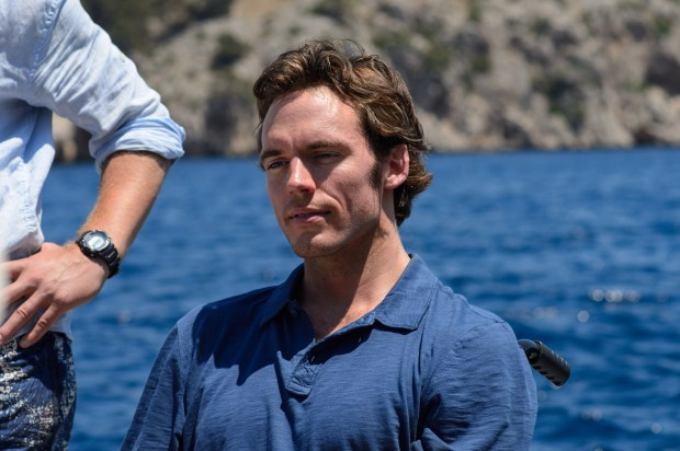 "SAM CLAFLIN as Will Traynor in New Line Cinema's and Metro-Goldwyn- Mayer Pictures' romantic drama ""ME BEFORE YOU,"" a Warner Bros. Pictures and Metro- Goldwyn-Mayer Pictures release. Photo by Alex Bailey"