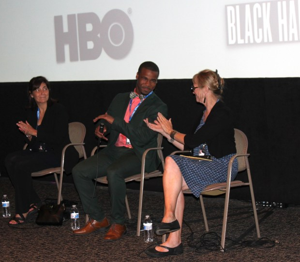 HBO's Class Divide screening and Q&A event with producer Credit: Dionne Nicole Smith
