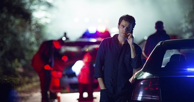 """The Vampire Diaries -- """"Hello Brother"""" --Image Number: VD801b_0304.jpg -- Pictured: Paul Wesley as Stefan -- Photo: Bob Mahoney/The CW -- © 2016 The CW Network, LLC. All rights reserved."""