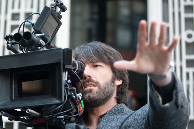 "Director BEN AFFLECK on the set of ""ARGO,"" a presentation of Warner Bros. Pictures in association with GK Films, to be distributed by Warner Bros. Pictures."
