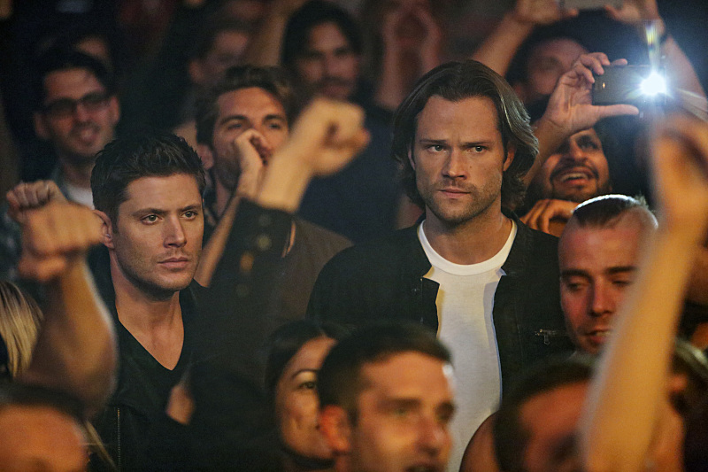"TV Review: Supernatural 12x07 ""Rock Never Dies"""