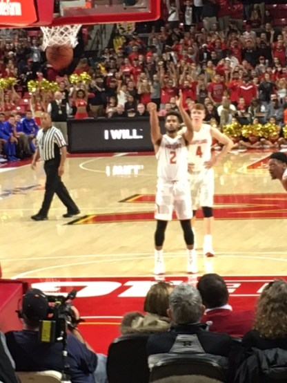 Melo Trimble Living At The Line