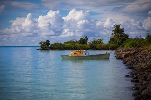 Samoan boat.