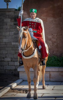 Ceremonial Palace Guard, Rabat, Morocco.