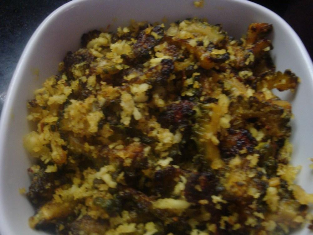 Pavakkai Karamedu (Bitter gourd curry) (3/3)