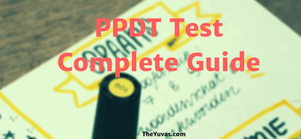 PPDT Complete Information