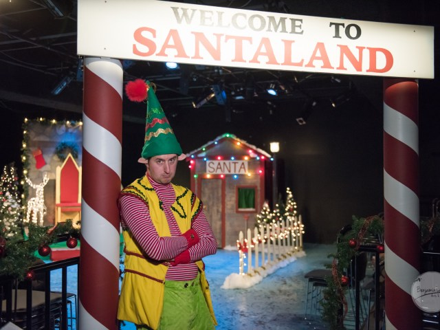Lunchbox Theatre adds some snarky fun to the holiday season with David Sedaris's The Santaland Diaries