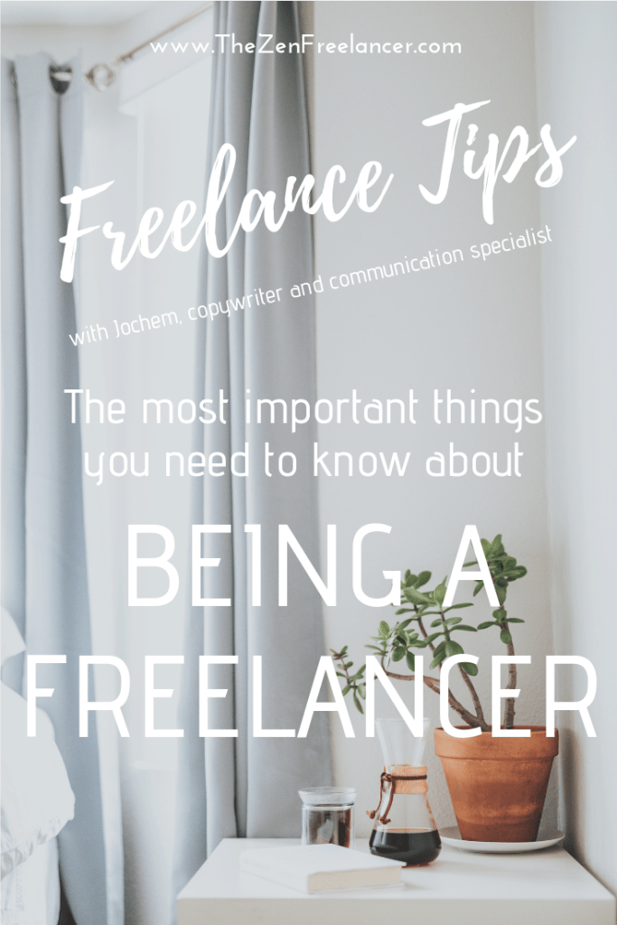 Freelance tips with Jochem Palubski, copywriter and communication specialist. What are the most important things you need to know about being a freelancer?   #freelancelife #stayfocused #entrepreneur #creativityboost #findclients #freelancejobs #freelancetips #productivitytips