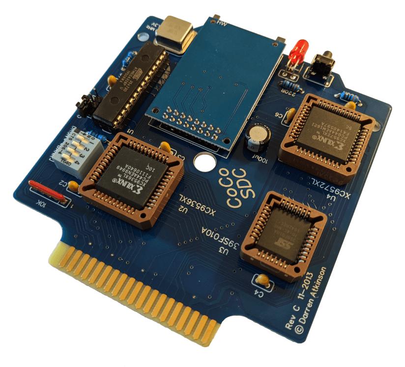CoCo SDC (assembled PCB)
