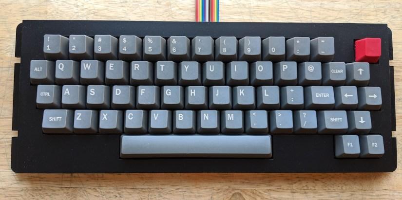 Color Computer 3 keyboard - 03