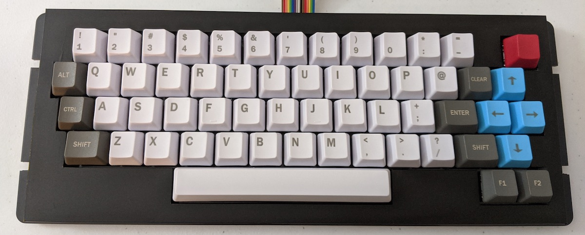 CocoMECH keyboard. Image courtesy Zippster
