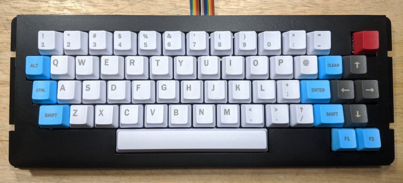 Color Computer 3 keyboard - 01