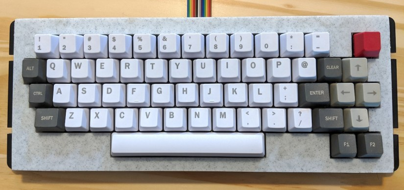 Color Computer 3 keyboard - 01