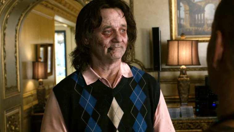 Bill murry plays a zombie