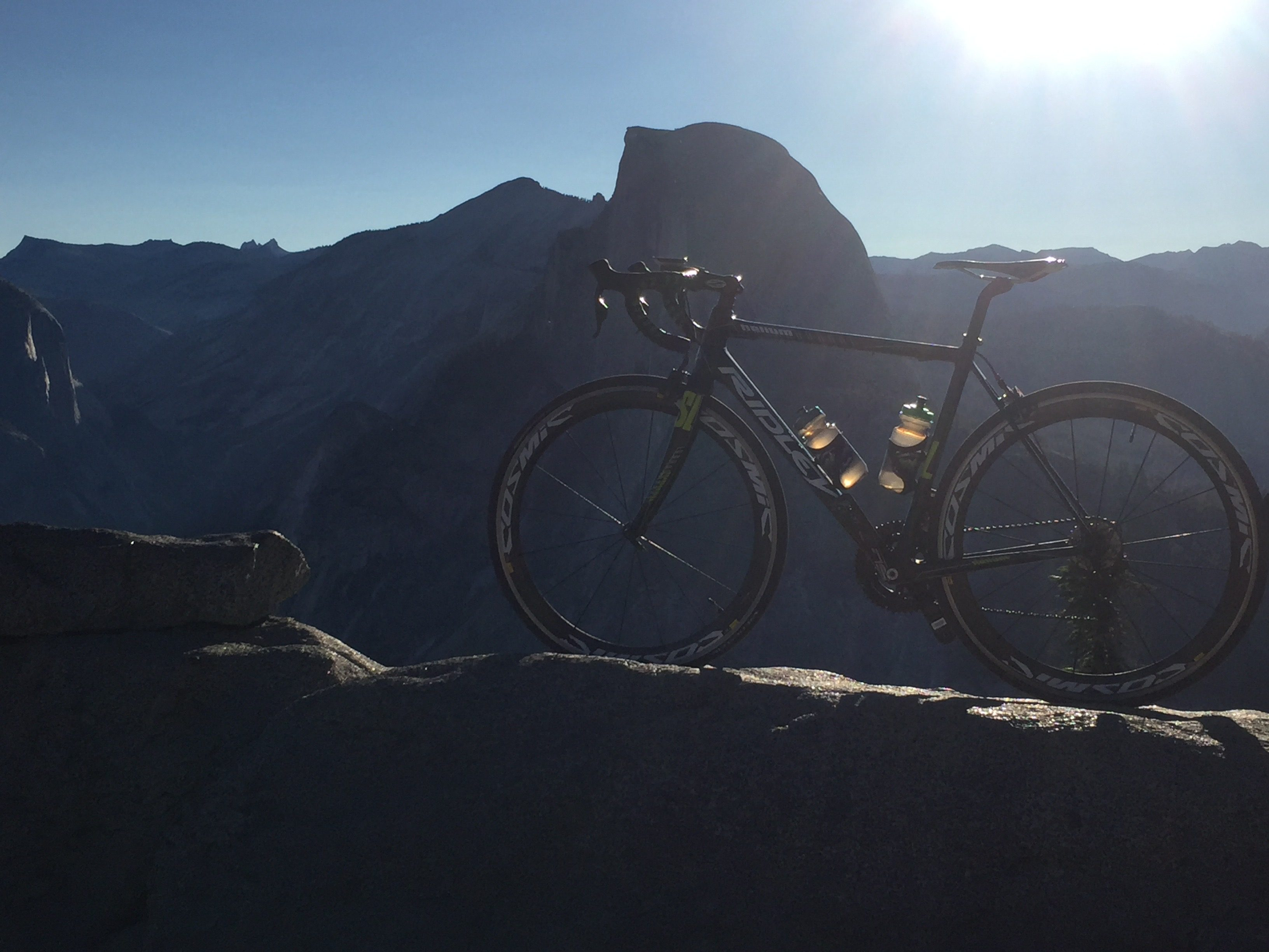 Yosemite National Park active cycling vacation