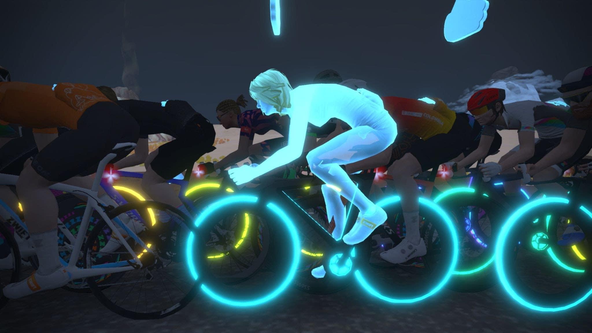 blue avatar cycling