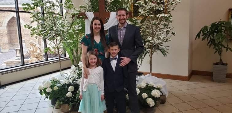 Matt Yankow and family