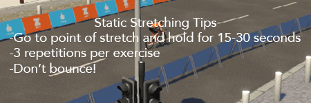 static stretching tips