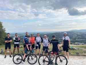 DIRT Zwift Team on Surrey Hills