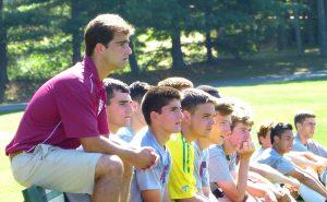 Taft boys soccer coach Ozzie Parente