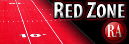 small red zone logo