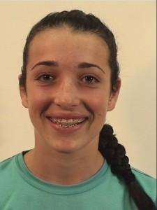 Westover girls basketball player Gabbie Dunn