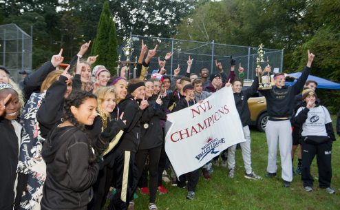 Both the Woodland boys and girls cross country team were crowned NVL champions during the NVL Cross Country championships held Wednesday at Veterans Memorial Park in Watertown. Jim Shannon Republican American