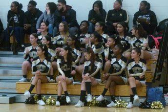 WCA cheerleaders