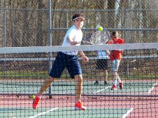 Holy Cross boys tennis - Nick Pietrorazio 1