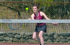Sacred Heart girls tennis - Hannah Dombroski 3