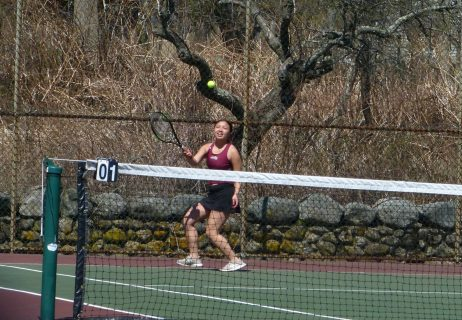 Sacred Heart girls tennis - Nhi Nguyen 1