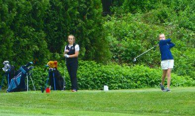 NVL golf 2019 - Skylar Defasio, Woodland - Erin Downes, St. Paul