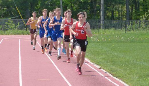 Northwestern track - Josh Mangini
