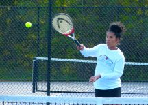 Sacred Heart tennis - Najma Braddock 2